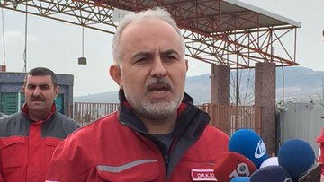 Türk Kızılayı Genel Başkanı Kerem Kınık'ın Azez'deki temasları