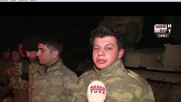 Afrin Harekatı'na katılan asker: Elimizden geleni yapmaya devam edeceğiz