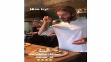 David Beckham'dan saltbae