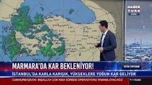 Marmara'da kar bekleniyor