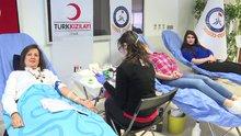 Üniversite öğrencilerinden kan bağışı kampanyas