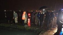 Polis otosu devriye sırasında denize düştü!