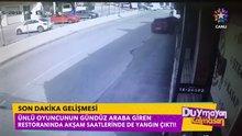 Erkan Petekkaya'nın restoranına araba girdi!