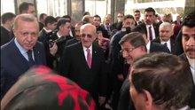 Erdoğan, Binali Yıldırım ve Davutoğlu ile başbaşa