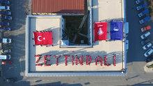 Zabıtadan Zeytin Dalı Harekatı'na katılan Mehmetçik'e destek
