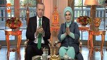 Erdoğan çiftinden okuma yazma kampanyasına destek