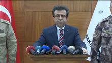 Diyarbakır Valisi operasyona ilişkin açıklamalarda bulundu