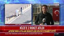 Kilis'e 2 roket atıldı