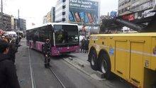 Kadıköy'de otobüs kazası