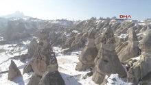 Kapadokya Drone ile gökyüzünden böyle görüntülendi