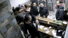 Karaman'da polis, garsonu tokatlayıp işyeri sahibinin kafasına silah doğrulttu