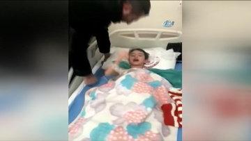 Narkozun etkisiyle Fenerbahçe sevgisi ortaya çıkan çocuk
