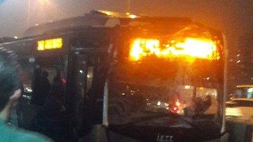 Haramidere metrobüs durağında kaza! 22 yaralı