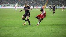 Sivasspor - Galatasaray maçından kareler