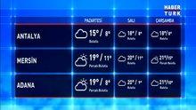 Haftanın ilk günü için Meteoroloji'den tahmin geldi!