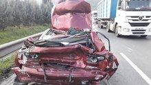 TEM'de korkunç kaza! 15 gün önce askerden gelmişti