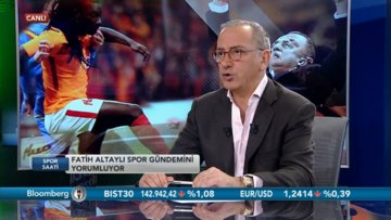 """Fatih Altaylı: """"Bu iftira, Emre Belözoğlu'na yakıştı."""""""