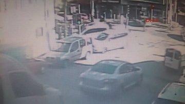 Hırsızlık şüphelisi polisin burnunu kırdı