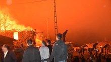 Kastamonu'da korkunç yangın! Evler küle döndü