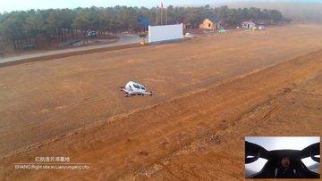 Dünyanın ilk yolculu insansız hava aracı EHang 184
