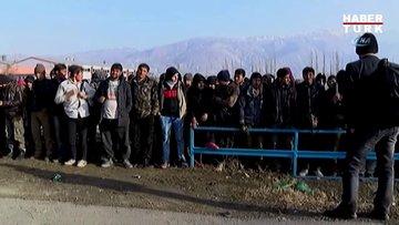 Erzincan'da kamyon kasasında 178 göçmen yakalandı