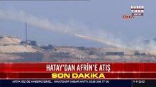 Hatay'dan Afrin'e atış