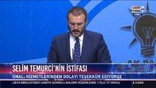 Ak Parti Sözcüsü Ünal basının sorularını yanıtladı