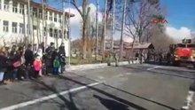 Bitlis-Afrin şehidi 9 asker, Tatvan'dan uğurlanmıştı