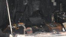 Samsun'daki yangında anne ve engelli 2 kızı can verdi