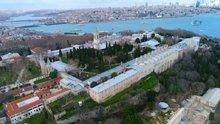 Tarihinin en büyük restorasyonunu geçiren Topkapı Sarayı havadan görüntülendi