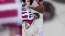 Maçta kavga! 5 futbolcu yaralandı