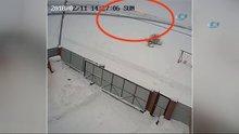 Rusya'da düşen uçağın görüntüleri ortaya çıktı