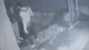 Kadına şiddet güvenlik kamerası tarafından saniye saniye kaydedildi
