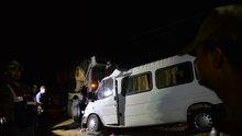 Park halindeki askeri tıra çarptı: 3 ölü, 10 yaralı