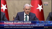 Başbakan Belarus'a gidiyor