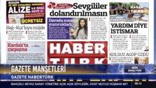 Gazete Manşetleri 14 Şubat 2018