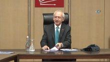 Kılıçdaroğlu, yeni MYK üyeleriyle bir araya geldi