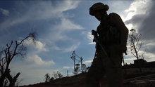 Türk askeri Burseya Dağı'nı mayınlardan böyle temizledi