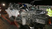 Aydın'da 14 Şubat Sevgililer Günü etkinliği dönüşü trafik kazası: 2 ölü