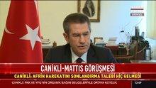 Bakan Canikli, ABD'li mevkidaşının şok teklifini açıkladı