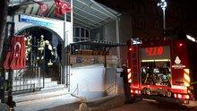 İstanbul Avcılar'da bulunan Cihangir Cami'nde yangın çıktı