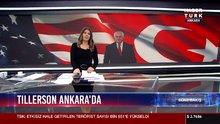 Ankara'da Tillerson protestosu