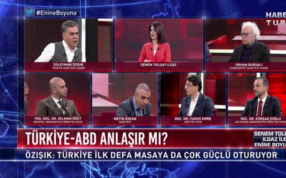 Enine Boyuna - 15 Şubat 2018 (ABD'nin Türkiye Planı)