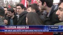 ABD Dışişleri Bakanı Tillerson'a protesto
