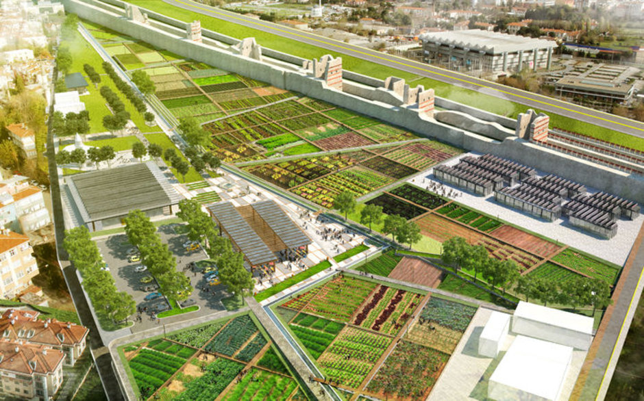 Yedikule Bostanları'na 'Kentsel Tarım Parkı' yapılacak