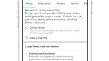 Facebook'un yeni Grup Kuralları özelliği