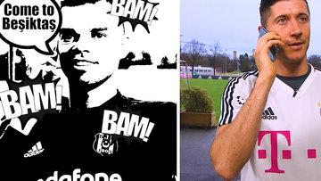 Come to Beşiktaş: Pepe ve Negredo, Lewandowski'yi aradı
