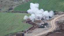 Afrin'de terör mevzileri ateş altına alındı