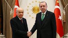 Erdoğan-Bahçeli görüşmesinin ardından AK Parti'den açıklama
