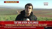 Afrin'de 3 köy daha temizlendi